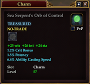 Sea Serpent's Orb of Control