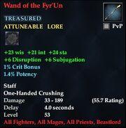 Wand of the Fyr'Un