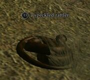 A speckled rattler