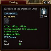 Earhoop of the Deathfist Orcs