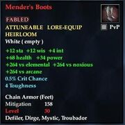 Mender's Boots