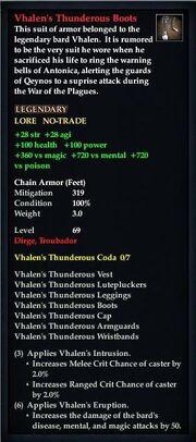 Vhalen's Thunderous Boots