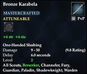 Bronze Karabela