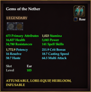 Gems of the Nether