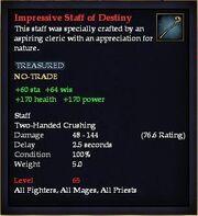 Impressive Staff of Destiny