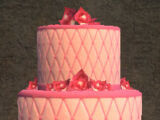 A Delicious Pink Cake