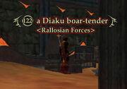 A Diaku Boar-Tender