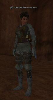 A Swiftrider mercenary