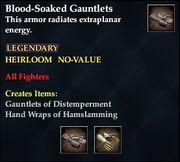 Blood-Soaked Gauntlets