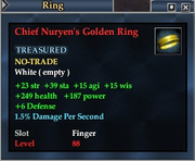 Chief Nuryen's Golden Ring