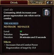 Cool ale