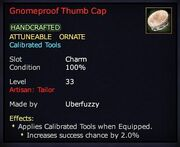 Gnomeproof Thumb Cap