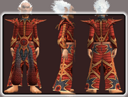 Seraphic Robe of the Beguiler (Equipped)