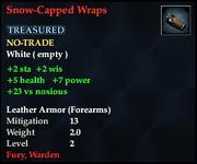 Snow-Capped Wraps