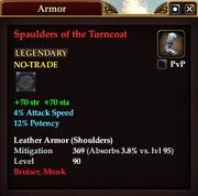 Spaulders of the Turncoat