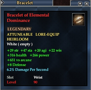 Bracelet of Elemental Dominance