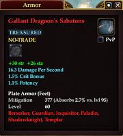 Gallant Dragoon's Sabatons