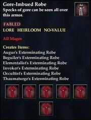 Gore-Imbued Robe