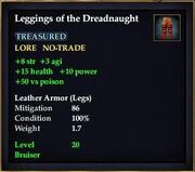 Leggings of the Dreadnaught