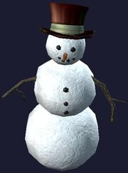 Prefabricated Snowman (Visible)