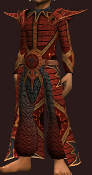 Seraphic Robe of the Elementalist (Equipped)