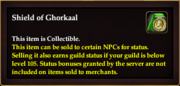 Shield of Ghorkaal