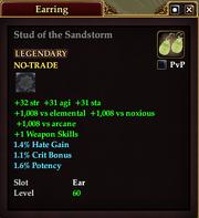 Stud of the Sandstorm