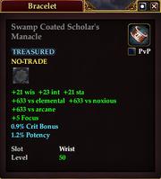 Swamp Coated Scholar's Manacle