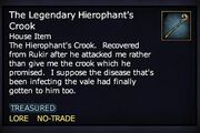 The Legendary Hierophant's Crook