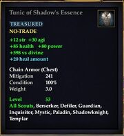 Tunic of Shadow's Essence
