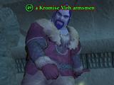 A Kromise Virh armsmen