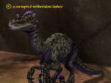 A corrupted withertalon lurker