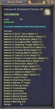 Advanced Alchemist Volume 58