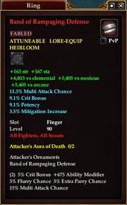 Band of Rampaging Defense