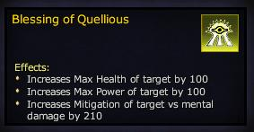 Blessing of Quellious