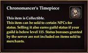 Chronomancer's Timepiece collectible