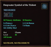 Deepwater Symbol of the Trident