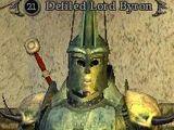 Defiled Lord Byron
