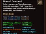 Gemmed Greatsword