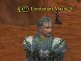Lieutenant Masts