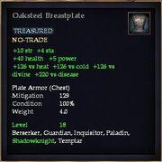 Oaksteel Breastplate