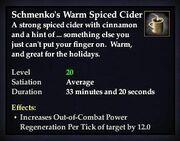 Schmenko's Warm Spiced Cider