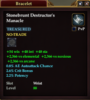Stonebrunt Destructor's Manacle