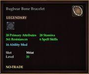 Bugbear Bone Bracelet