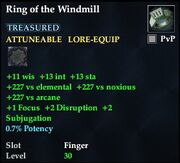 Ring of the Windmill