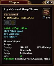 Royal Crate of Sharp Thorns