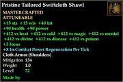 Tailored Swiftcloth Shawl