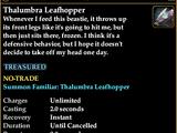 Thalumbra Leafhopper
