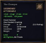 The Chomper (Weapon)