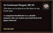 1st Ltnt Dergud 289 AS book
